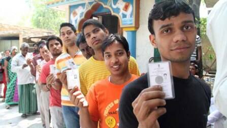 Maharashtra Polls: 17.8% polling till 11AM; Shinde, Chavan, Hazare cast vote