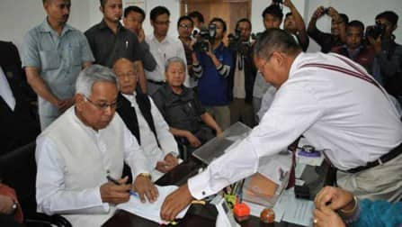 Manipur Lok Sabha Polls: 35 per cent polling for Manipur
