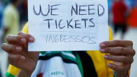 FIFA World Cup 2014: No FIFA official quizzed over ticket scandal