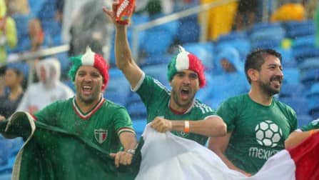 FIFA World Cup 2014 Match In Pics: Mexico vs Cameroon