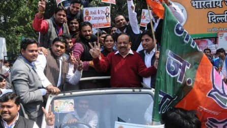 Delhi Lok Sabha Election Results: BJP set to whitewash AAP, Congress
