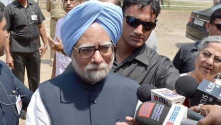 Prime Minister Manmohan Singh addresses his farewell speech - My life and tenure an open book