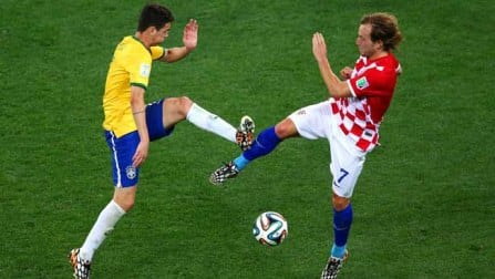FIFA World Cup 2014: Brazil vs Croatia, Match 1
