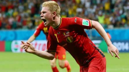 Belgium overcome United States resistance to reach quarter-finals