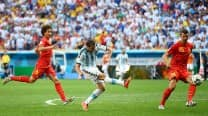 Gonzalo Higuain fires Argentina into FIFA World Cup 2014 semis