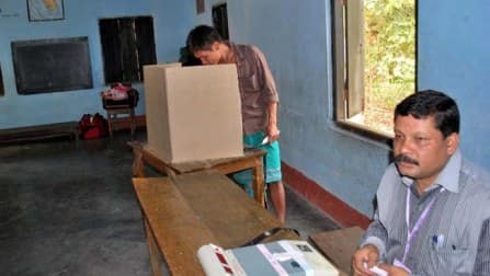 Over 60 percent voting in Dadra and Nagar Haveli