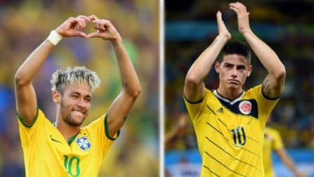 FIFA World Cup 2014, Brazil vs Colombia: Key players to watch in 2nd Quarter-final