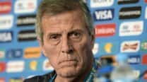 Uruguay can cope without Luis Suarez, claims Oscar Tabarez