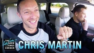 You'll love Chris Martin's Coldplay Carpool Karaoke session