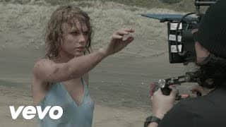 Get ready to be amazed by Taylor Swift's behind-the-scenes of Out of the Woods!